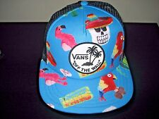 Vans Shoes OTW Surf Patch Trucker Hat Cap Turquoise adjustable NWT Ships Free