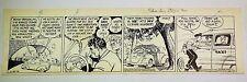 Jack Sparling Original Daily Comic Strip Art 1942 Comic Art