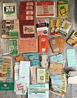 LOT Vintage Trading Stamps Green Gold Bond King Korn Paid Merchants Colonial Oil