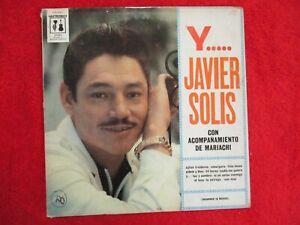 JAVIER SOLIS..con Acompanamiento de Mariachi