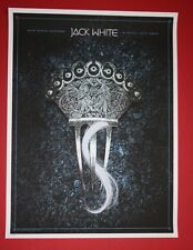 JACK WHITE DUBLIN IRELAND POSTER ALAN HYNES PRINT MEG STRIPES ROYAL HOSPITAL