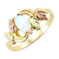 Landstrom's® 10K Black Hills Gold Opal Ring Size 4 - 10