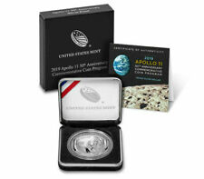 2019-P Apollo Proof Silver Dollar, Low Mintage, Sold Out at the Us Mint