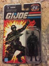 Hasbro Gi Joe 25th Anniversary Commando Snake Eyes 2007