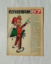 BD - Supplement Spirou Referendum 67 / DUPUIS