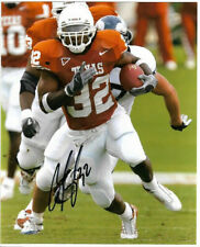 CEDRIC BENSON SIGNED PHOTO 8X10 RP AUTOGRAPHED TEXAS LONGHORNS