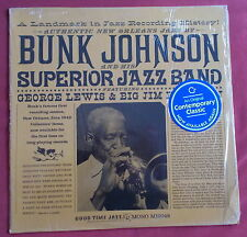 BUNK JOHNSON & SUPERIOR JAZZ BAND  LP ORIG US  MONO