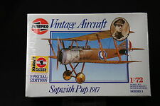 XL156 AIRFIX 172 maquette avion 01082 Sopwith Pup 1917 NB 1988