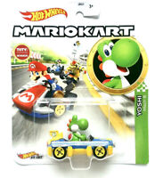 Yoshi Mach 8 Mario Kart Hot Wheels Die-Cast Mattel Nintendo Brand NEW