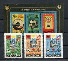 Uruguay 1313/15 Block 21 postfrisch / Fußball ............................1/3226