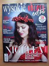WYSOKIE OBCASY Extra 9/2014 NIGELLA LAWSON / ANJA RUBIK on front cover