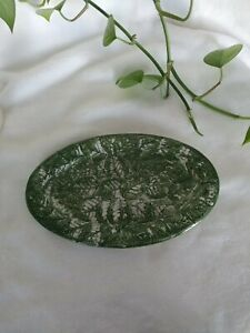 Small Leaf Plate By CBK Ltd 1993 Made In Taiwan