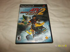 ATV Offroad Fury 2 (Sony PlayStation 2, 2002)(Complete)