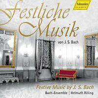 Bach-Ensemble - Festive Music by JS Bach [CD]