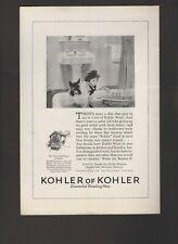 1925 Kohler Of Kohler Ware Bathroom Fixtures Sheboygan WI Vintage Print Ad N25