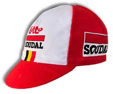 Retro Lotto Soudal 2016-2019 Pro Cycling Team cap fast shipping