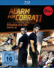 2 Blu-rays * ALARM FÜR COBRA 11 - STAFFEL 33 # NEU OVP §