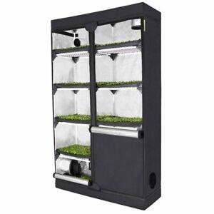 """GHP Probox """"Propagator XL"""" 120x40x200cm Growbox für kleine Pflanzen und Anzucht"""