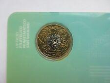 San Marino 5 euro 2016 Jubileum van de Barmhartigheid coincard (UNC)