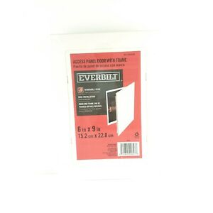 Everbilt Access Panel Door With Frame Removable Door White Color  USA Seller