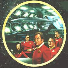 Kirk'S Final Voyage Star Trek Generations Movie Ceramic Plate (Stpl-132)