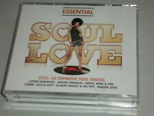 SOUL LOVE 3 CD -BOX 60 TRACKS MIT BILLY OCEAN ALICIA KEYS GINUWINE TLC ODYSSEY