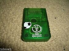 NINTENDO GAMECUBE & WII MEMORY CARD 4MB 2002 FIFA World Cup Korea Game Cube Mem