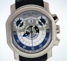 Daniel Roth Papillon Chronographe 18k White Gold Watch.