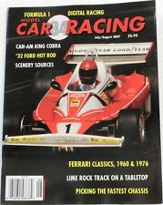 MODEL CAR RACING MAGAZINE #34 - SCALEXTRIC , FLY , SCX , NINCO 1/32 SLOT CARS