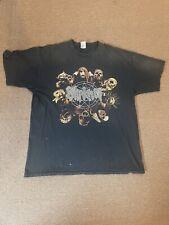 Vintage 2001 slipknot t shirt vintage band distressed XL