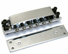 GB-0515-010 Covered Chrome Ric Rickenbacker Style Guitar Bridge