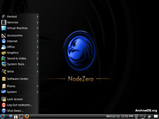 Node Zero Linux Live USB Penetration Test Exploit MITM reverse shell hacking