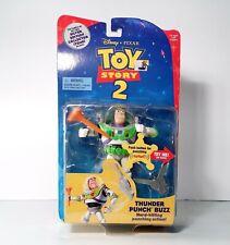 Disney Pixar Toys Story 2 Thunder Punch Buzz Lightyear Mattel 1999 NEW