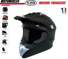 CASQUE CROSS TAILLE XS moto enduro scooter quad dirt Homologué E9  CASCO HELMET