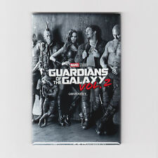 GUARDIANS OF THE GALAXY VOL. 2 / CAST - MINI POSTER MAGNET (marvel print toy)