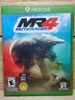 Moto Racer 4 (Microsoft Xbox One, 2017) Motorcycle Racing Video Game Tested