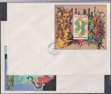Briefmarken aus Afrika mit Ersttagsbrief mit Schach-Motiv