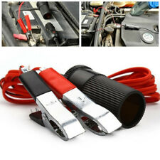 12V Car Battery Terminal Clip-on Cigarette Lighter Plug Power Socket Adapter #