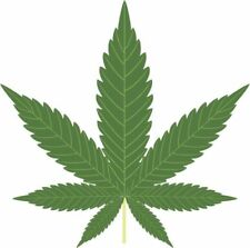 NOVELTY MARIJUANA HASH LEAF 12 STAND UP Edible Image Cake Toppers party fun