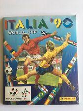 Panini World Cup Italia 1990 Sealed (Sigillato) Album and Stickers (Excellent)