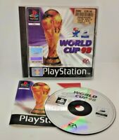 World Cup 98 Video Game for Sony PlayStation PS1 PAL TESTED