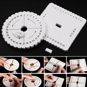 Kumihimo Beading Cord Disc/Disk Braiding Braided Plate DIY Handm ibB_HF