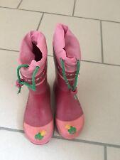 Regenstiefel von Gießwein Gummistiefel Gr. 28 Mädchen Pink Rosa angerauht