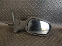 2004 NISSAN MICRA K12 1.2 S 3DR DRIVER SIDE MANUAL WING MIRROR BLACK 018011