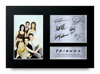 Friends Cast Collection Signed A4 Framed Printed Autograph Poster Print Gift