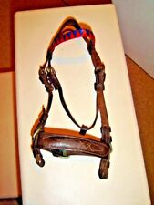 Mini Leather Bridle Dark Brown