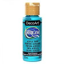 Decoart Americana peinture Acrylique Multi-usages Désert Turquoise