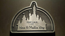 Disney inspired Keep calm and Have a Magical Day plaque