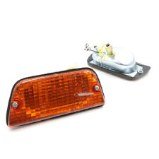 FR PARKING TURN SIGNAL LIGHTS AMBER PAIR LH RH Fit NISSAN DATSUN 620 1600 72-79