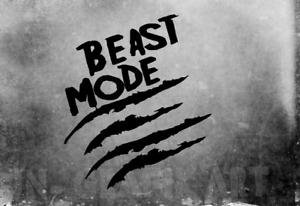 Beast Mode Aufkleber Car Auto Sticker Tuning JDM Decal Bike LKW Vinyl Kratzer